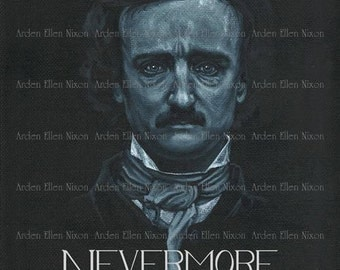 Poe Nevermore 5 Postcard Set