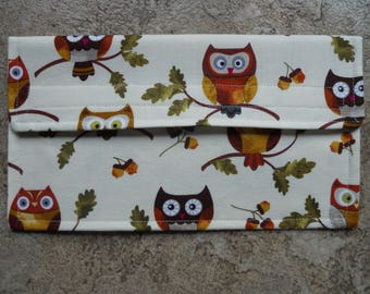 The Wise Owl Coupon Holder / Organizer / Wallet