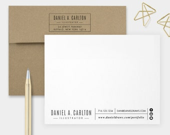 Calling Card, Personalized Stationery