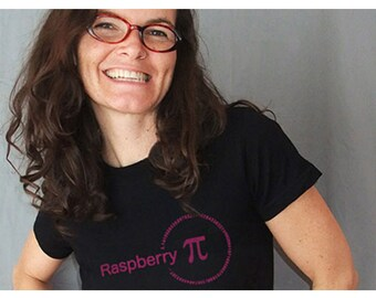 Raspberry Pi - Math T-Shirt - Black or Berry