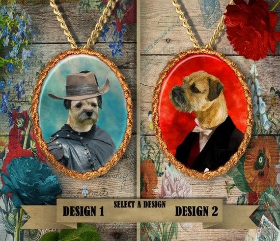 Border Terrier Jewelry Border Terrier Pendant Border Terrier Lover Border Terrier Charm Border Terrier Gift Custom Dog Jewelry Nobility Dogs
