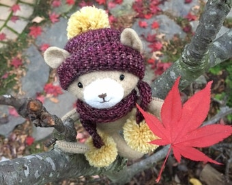 Autumnal Bear PDF pattern