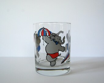 Republican Elephant Whiskey Glass, Republican Convention New Orleans 1988, Politicians Drinking Glass