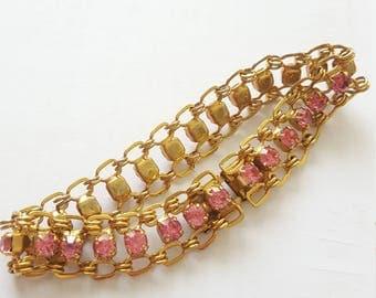 Vintage Gold Chain Link Bracelet