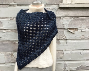 ELIZABETH SHAWL Crochet Pattern PDF -  Easy Beginner Crochet