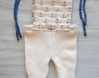 Anchors - newborn photo prop