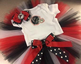 Atlanta Falcon inspired tutu outfit
