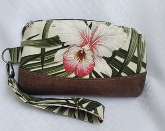 Wild Orchid Wristlet