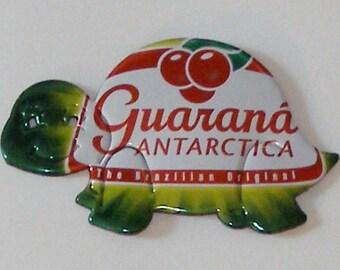 Turtle Magnet -Guarana Antartica Soda Can