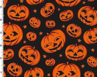 Pumpkin Heads from Michael Miller's A Gnome Halloween