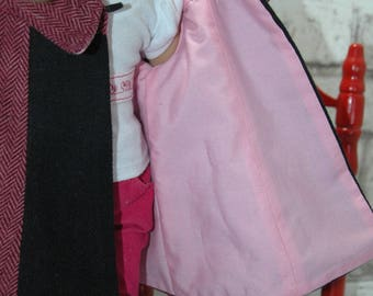 American, Made, Girl, doll, winter, coat, 18 inch, doll clothes
