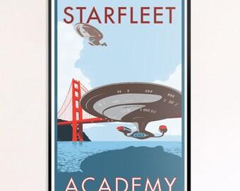 "Starfleet Academy 24"" x 36"" Print"