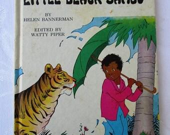 Spring SALE 20% OFF Little Black Sambo, Vintage 1970s Children's Collectible Book Hardback by Helen Bannerman
