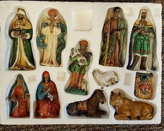 Christmas Nativity Scene porcelain