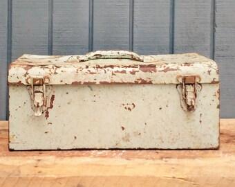 Vintage Tool Box - Shabby Tool Box