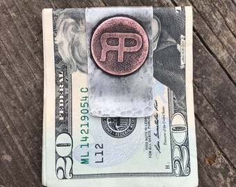 Custom cattle brand money clip, custom ranch brand money clip, custom money clip
