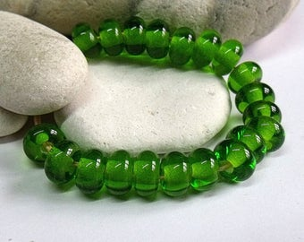 Celtic, Lampwork Spacer Beads, SRA, UK