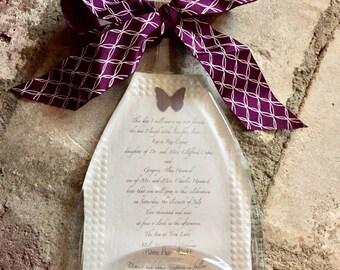 Personalized Wedding Invitation Keepsake