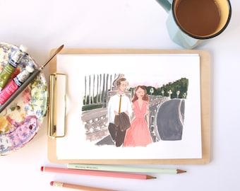 La La Land A4 Art Print