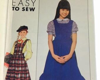 Girls School Uniform , Pinafore and Shirt
