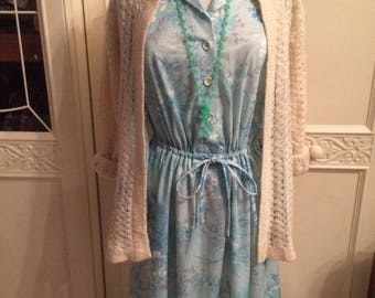 Vintage Summer Dress with Cardy