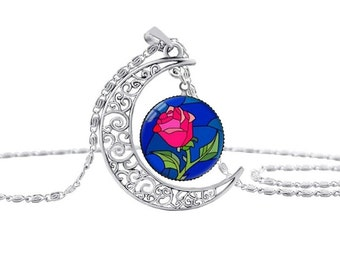 The Beauty and the Beast Necklace. Disney