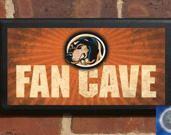 Tennessee Volunteers Fan Cave Football Basketball Wall Art Sign Plaque, Gift Present, Home Decor, Vintage Style Vols rocky top smokey cave