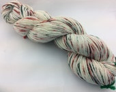 "Galaxy - ""Annie's Yuletide"" - Hearthside Fibers, fingering weight yarn, ""sparkles""."