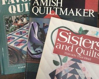 3  Quilting Books