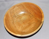 Cherry bowl, 8 1/2 inches diameter by 3 inches high, item 103389