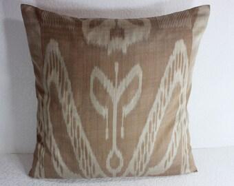 Ikat Pillow, Handmade Ikat Pillow Cover  S110, Ikat throw pillows, Designer pillows, Decorative pillows, Accent pillows
