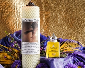 Inner Goddess Candle and Perfume Set