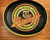 Berghoff Restaurant Advertising Metal Tray Chicago Memorabilia