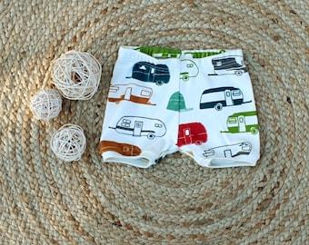 organic baby toddler shorts sizes 000 to 2 caravan shorts