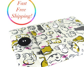 Cat MacBook Air Case, MacBook Case, MacBook Air 13 Inch Case, MacBook Cover, MacBook Air Cover, MacBook Sleeve, MacBook Air Sleeve