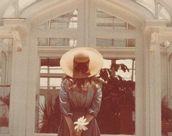 Girl in the Hat fine art photo vintage photography large Fine Art original mid century modern