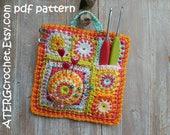 Crochet pattern 'ORGANISER' by ATERGcrochet