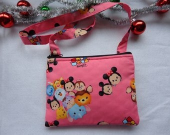 Kid's Crossbody Bag:Disney Chum Chum 2