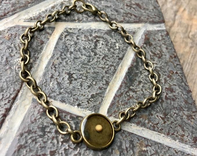 Small Round Mustard Seed Faith Bracelet