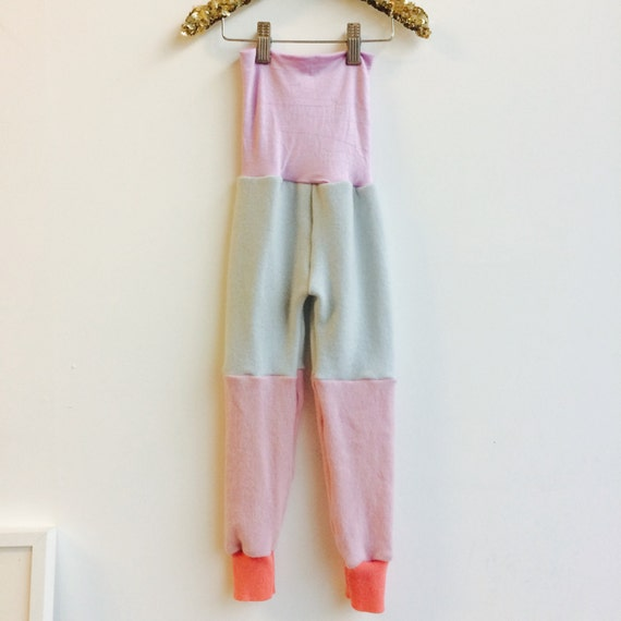CRAWLER 4-5 Years Kids Cashmere Leggings Pyjama Bottoms Joggers Trousers Sweat Pants in Upcycled Cashmere Unisex