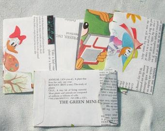 Small Handmade Disney Envelopes - Set of 6