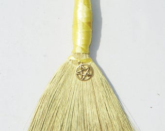 Air Element Mini Wiccan Besom Ornament or Decoration