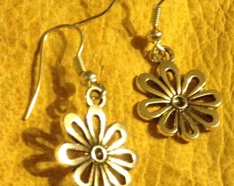 Flower Earrings FREE shipping