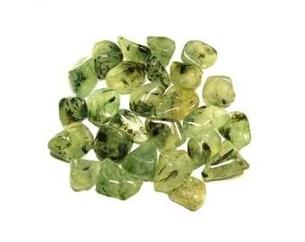 Prehnite Epodite Tumbled stones - 1 lb., Bulk prehnite, Heart chakra, Crystal healing, Chakra stones, Rock magick, Tumbled prehnite