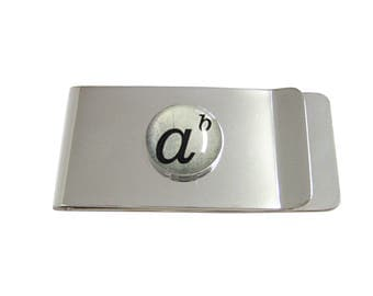 Mathematical A to the Power of B Money Clip