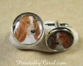 Custom Pet Photo Cufflinks, Dog Dad Cufflinks, Cat Dad Cufflinks, Pet Memorial Cufflinks, Pet Memorial Jewelry, Dog Dad Gift, Cat Dad Gift