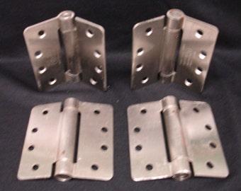 4 Heavy Duty Door hinges Fixed Pin Stainless Steel Large Door Hingess