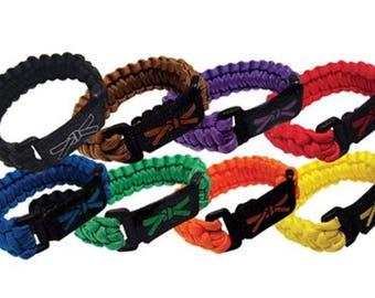 Paracord Karate Rank Bracelet