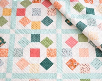 Bloom Quilt Pattern by She Quilts A Lot