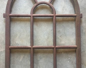 Large Cast Iron Window Frame